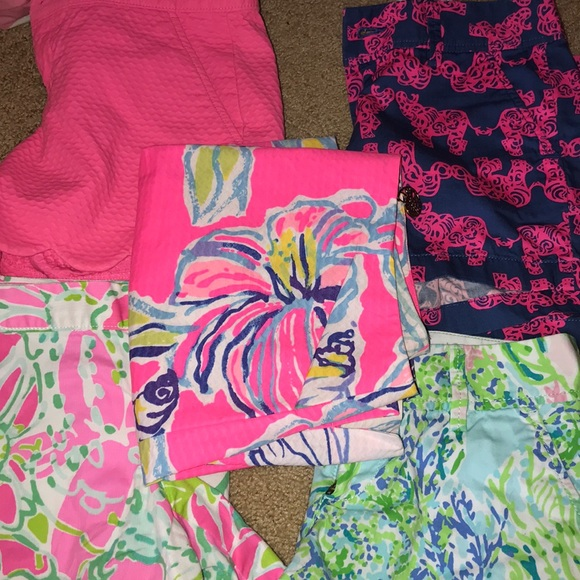 Lilly Pulitzer Pants - Lily Pulitzer Callahan/Buttercup shorts all size 0